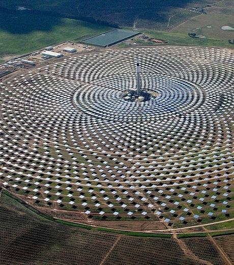 Tour solaire thermique