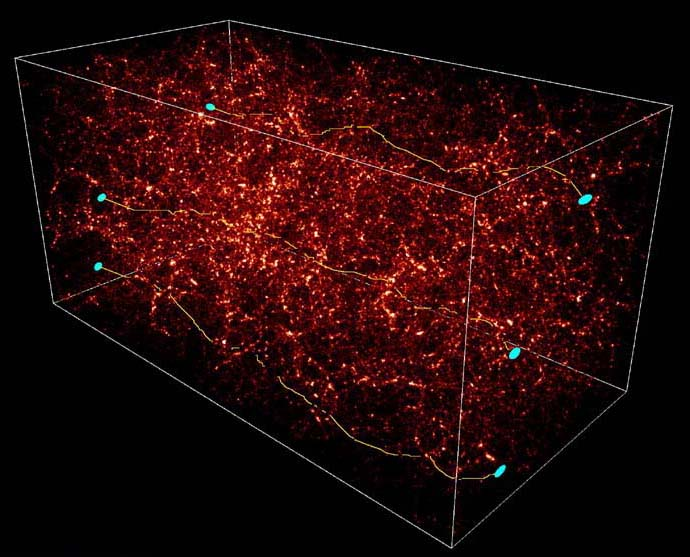 images of dark matter 3d map spacehero