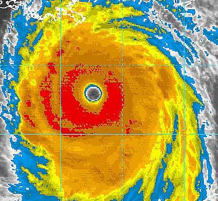 Rechauffement climatique et accroissement de l 39 intensit des cyclones tropicaux - Les 5 cyclones ...